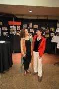 Curators Heidi Russell & Pangia Macri
