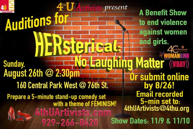 HERsterical Auditions Announcement